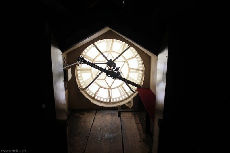 Bath Abbey clock