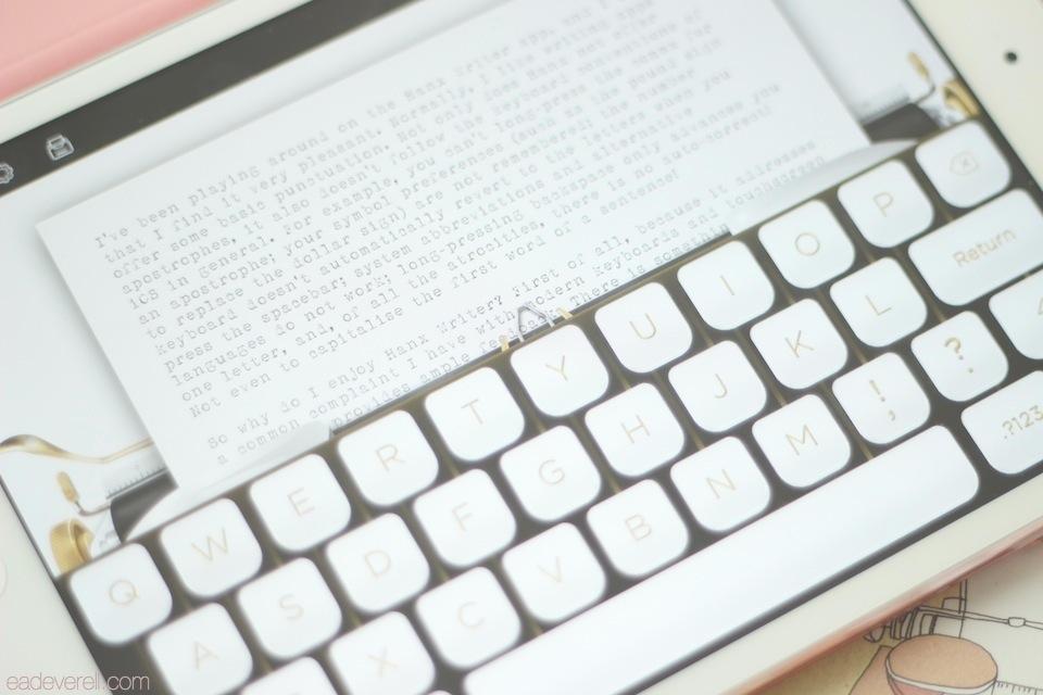 Hanx Writer Golden Touch