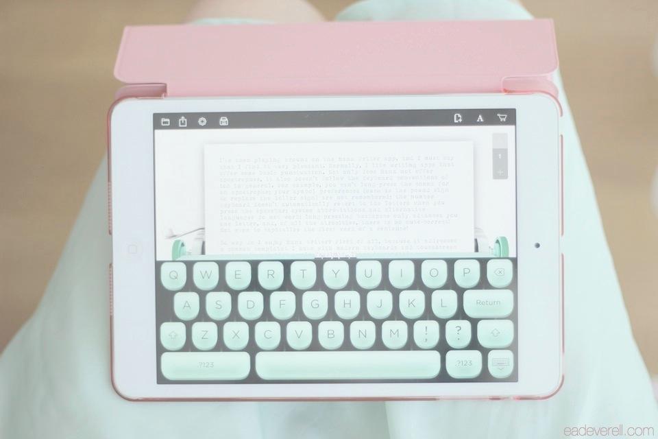 Typewriter App