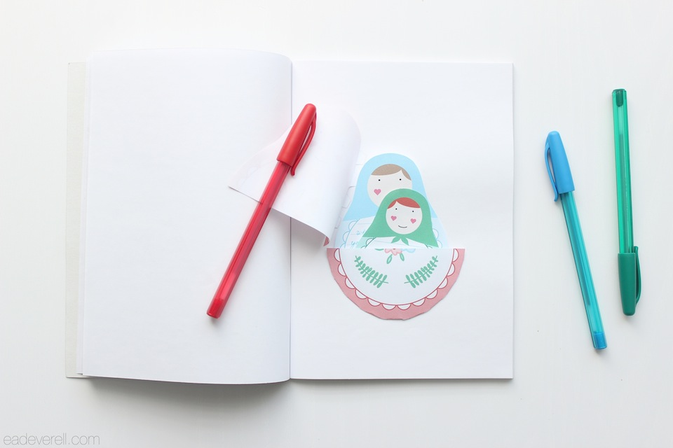 Matryoshka Journaling Spots