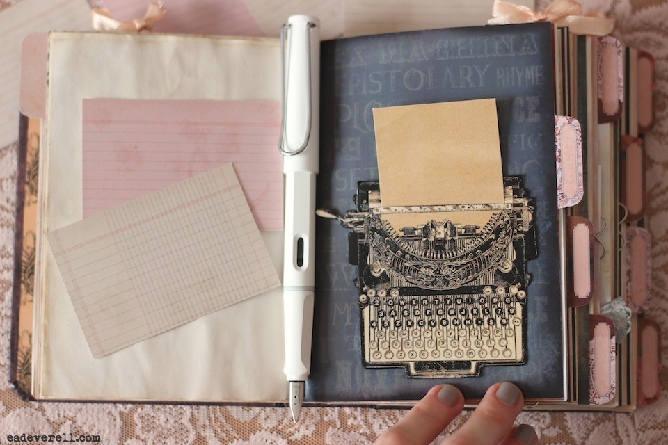 The Lady Writer Printable Journal Kit – Diary Paper Printable