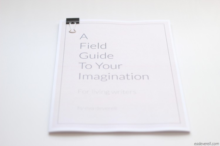 A Field Guide to Your Imagination