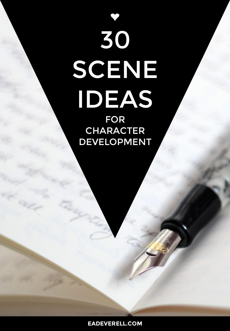 writing character development