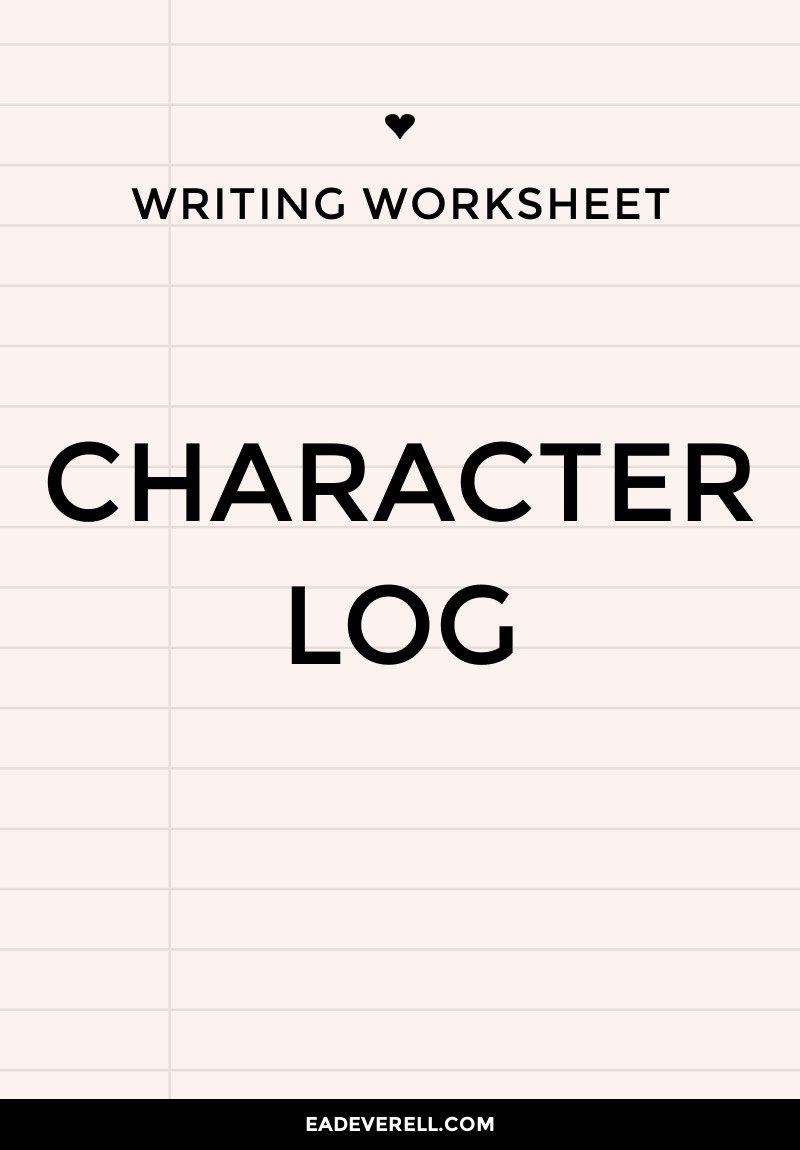 How to Keep Track of Characters in Your Novel