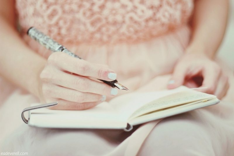The Writer & Her Notebook