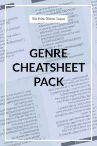 Genre Cheatsheet Pack