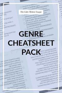 Genre Cheatsheet Pack