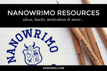 A big list of resources to help you plot, write and edit before, during and after NaNoWriMo.