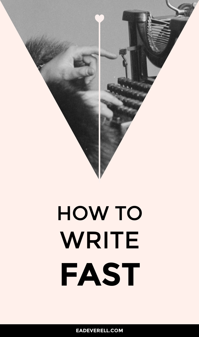 how to write your fastest story ever  creative writing blog