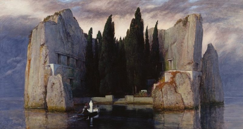 The Island of the Dead (Die Toteninsel) by Arnold Böcklin