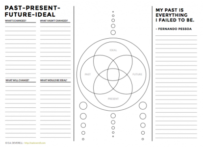 Printable mandala worksheet