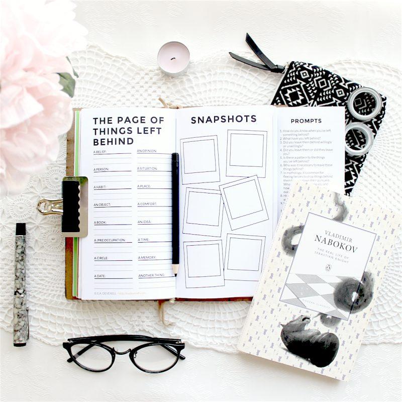 Journal Worksheets