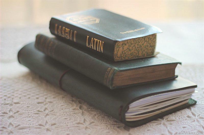 Studying Latin