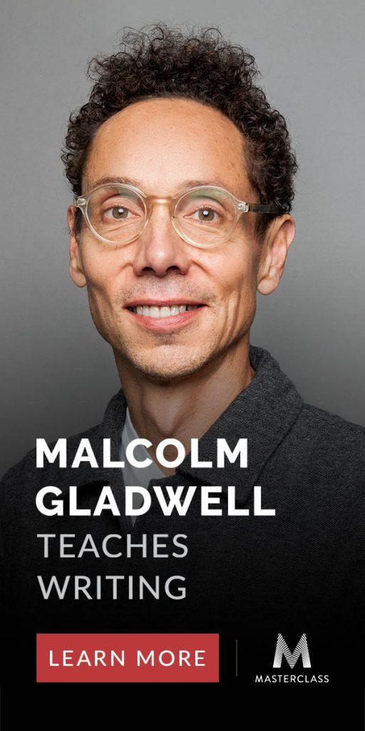 Malcolm Gladwell Writing Masterclass