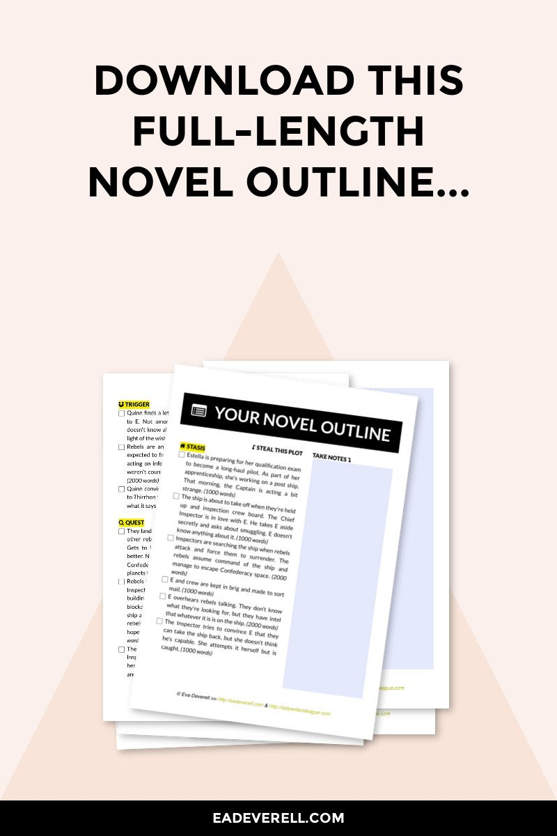 free novel outline