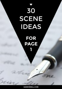 Opening scene ideas