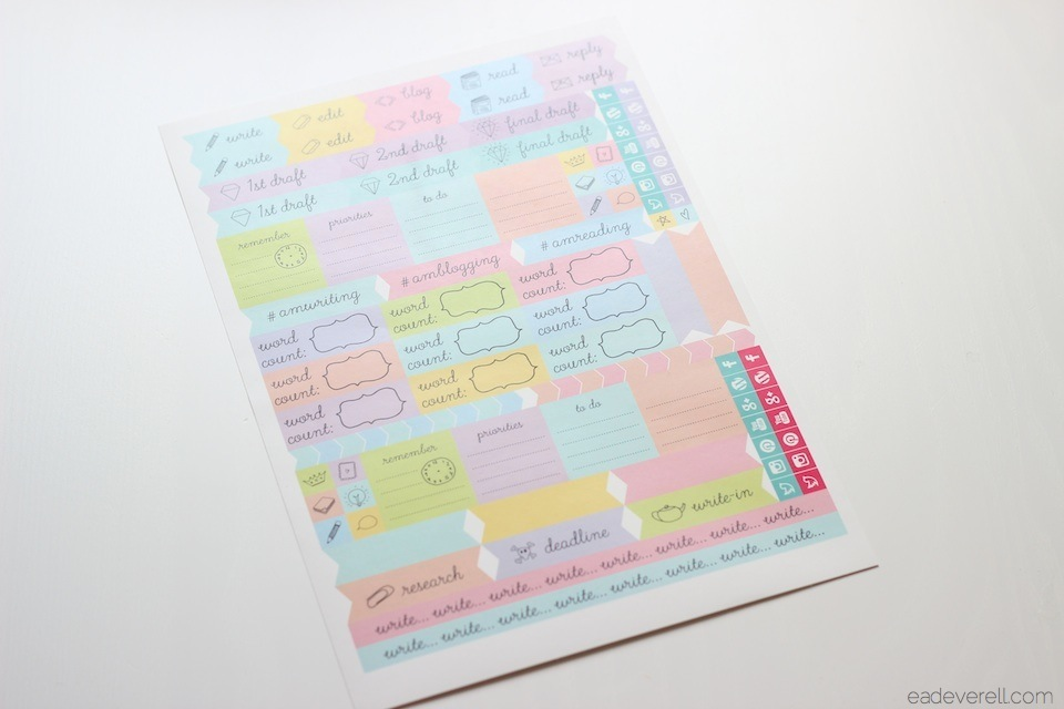 Printable Planner Sheet