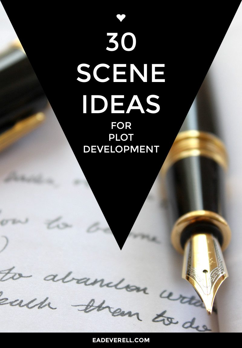 Writing ideas - 30 scenes for plot development