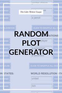 Writing Plot Generator