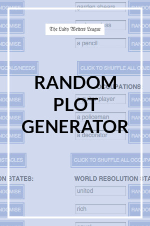 Writing Plot Generator