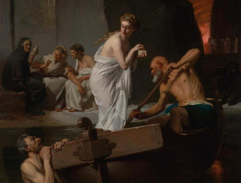 Psyche in the Underworld by Eugène-Ernest Hillemacher