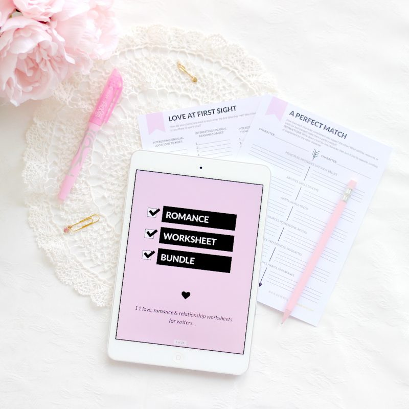 Romance Worksheet Bundle