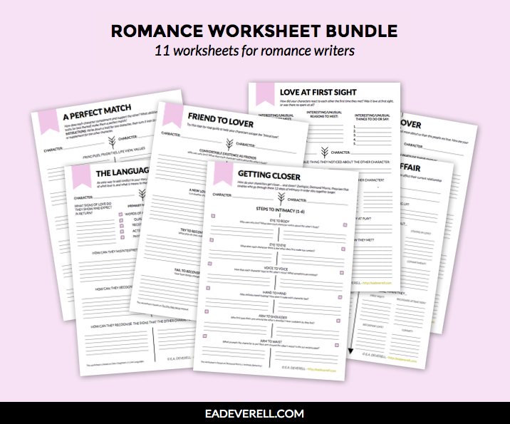 Romance worksheets