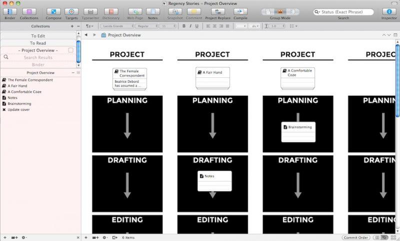 Scrivener Workflow