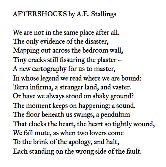 A.E. Stallings
