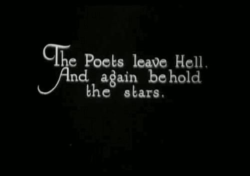 The Poets leave Hell, And again behold the stars