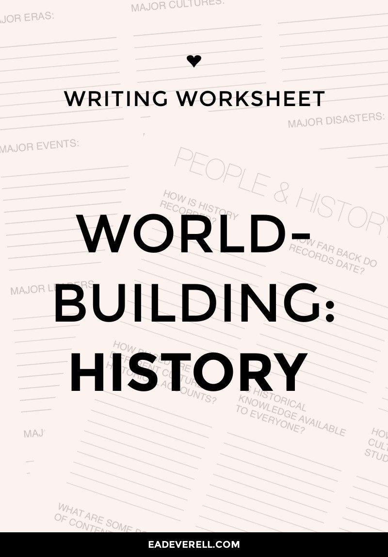 Worldbuilding History