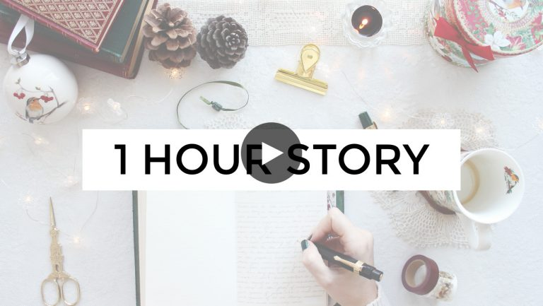1 Hour Story Challenge - Writing Video
