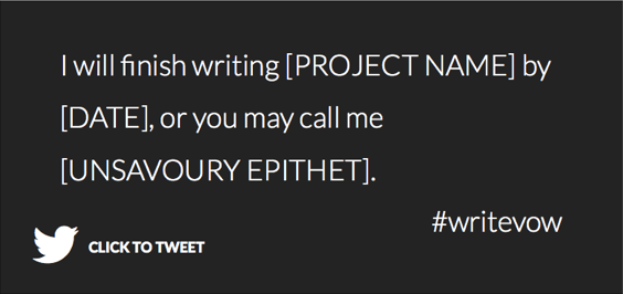 #writevow