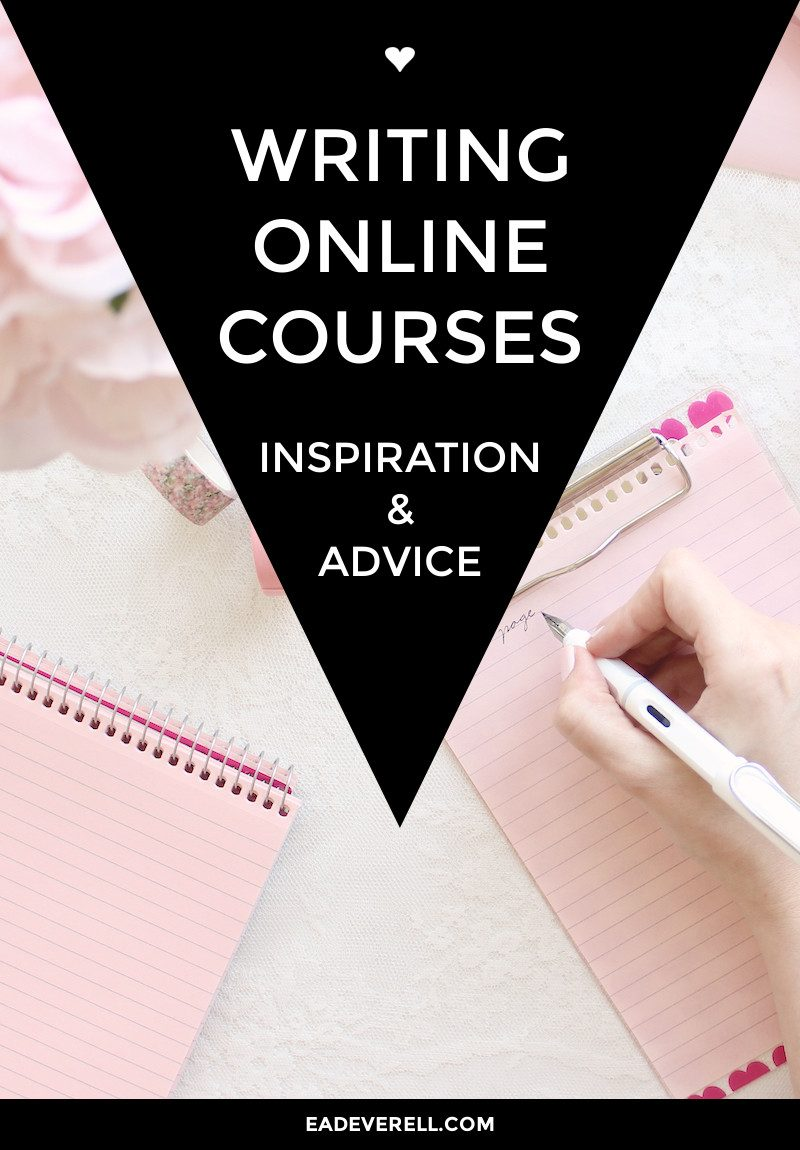 Writing online courses - inspiration for developing your process