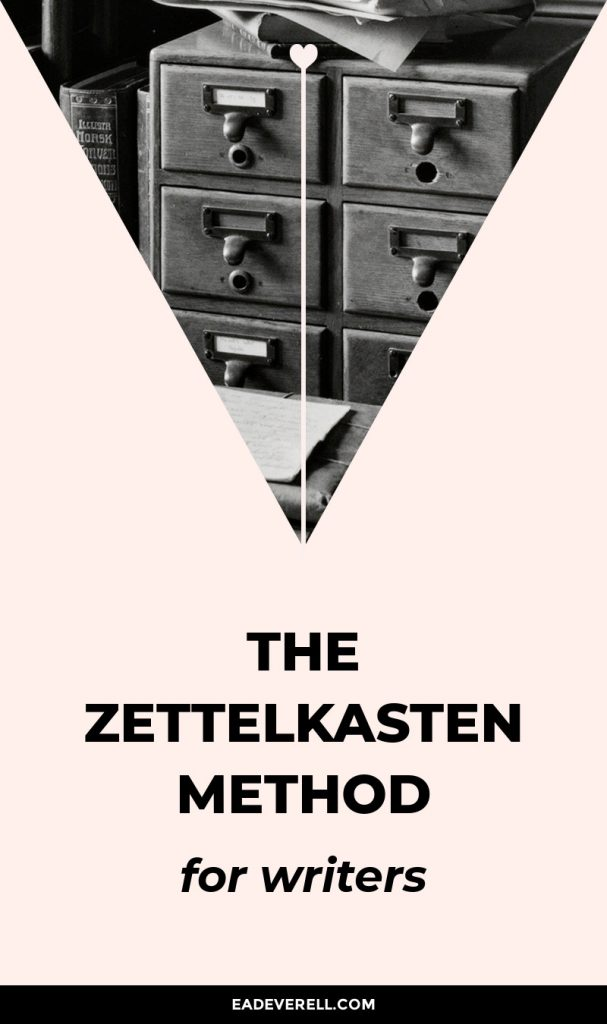 The Zettelkasten Method for Writers & Readers