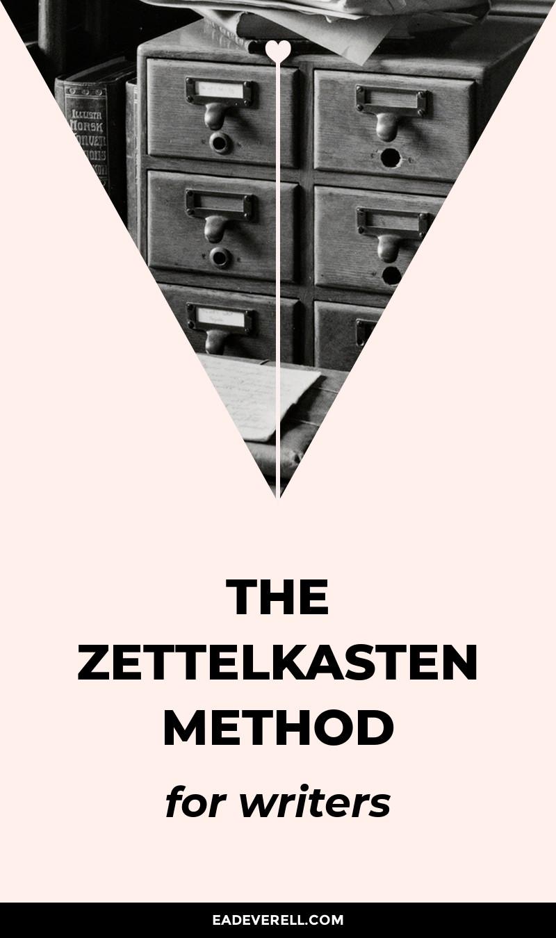 The Zettelkasten Method for Writers & Readers